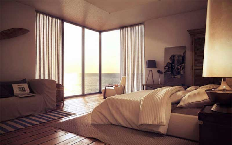 การออกแบบห้องนอนเพื่อเกิดความพึงพอใจ