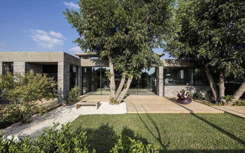 การออกแบบบ้านสำหรับประเทศที่มีอากาศร้อน